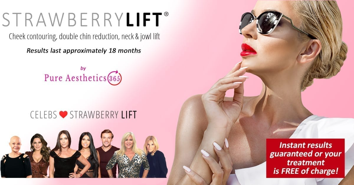 Strawberry Lift Double Chin Reduction